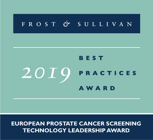 Frost & Sullivan recognises the Stockholm-based ContextVision AB with the 2019 European Technology Leadership Award for its INIFY™ Prostate platform.